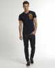 Superdry Yard Vee T-shirt Navy