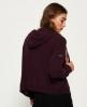 Superdry Super Soft Zip Hoodie  Purple