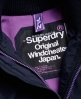 Superdry Pop Zip Hooded Arctic SD-Windcheater Jacket Navy