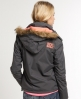Superdry Arctic Fur Windcheater Grey