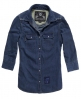 Superdry Denim Calamity Shirt Blue