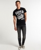 Superdry Lucky Aces T-shirt Black