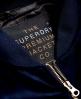 Superdry Velvet Bomber Jacket Navy
