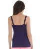 Superdry Lace Rib Vest Top Purple