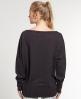 Superdry Lurex T-shirt Black