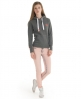 Superdry Orange Label Hoodie Dark Grey
