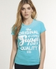 Superdry Quality Co T-shirt Blue