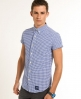 Superdry True Dry Oxford Shirt Blue
