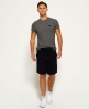 Superdry Orange Label Moody Shorts Black