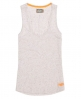 Superdry Nep Pocket Vest Light Grey