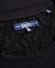 Superdry Super Sewn Rugged Lace T-Shirt  Schwarz
