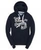 Superdry Tokyo Brand Hoodie Navy