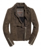 Superdry Suede Cascade Jacket Light Grey