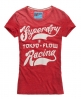 Superdry Tokyo Flow T-shirt Red
