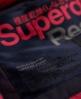 Superdry Everest Slim Polar Coat Navy