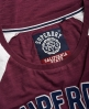 Superdry Varsity Shirt mit Applikation Rot