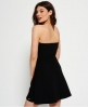 Superdry East Side Bandeau Dress Black