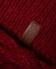 Superdry Kiki Cable Strickpulli Rot