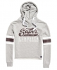 Superdry Classics Cropped Hoodie Light Grey