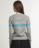 Superdry Torbery Fairisle Crew Grey