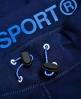 Superdry Gym Tech Slim Jogginghose Marineblau