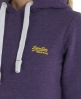 Superdry Orange Label Hoodie Purple