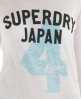 Superdry Slouch Sheer Top White