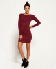 Superdry Augusta Bodycon-Kleid Rot