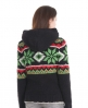 Superdry Hooded Henley Knit Black