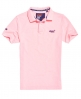 Superdry Classic Pique Polo Shirt Pink