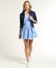 Superdry 50s Dress Blue