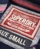 Superdry Appliqué Zip Hoodie Navy