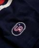 Superdry Tri League Baseball-Shirt Marineblau