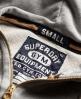 Superdry Routine Zip Hoodie Grey