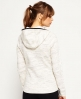 Superdry Gym Tech Zip Hoodie  Cream
