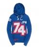 Superdry 74 Block Hoodie Blue
