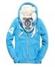Superdry Track & Field Fur Hoodie Blue