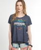 Superdry Ornate Heart T-shirt Navy
