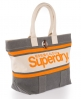 Superdry Brighton Tote Bag Grey