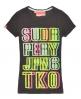 Superdry Stamp T-shirt Black
