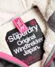 Superdry Cazadora con capucha Winter Windtreker Gris Claro
