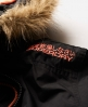 Superdry Polar Wind Parka Coat Black