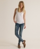 Superdry Embroidered Pocket Tank White