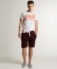Superdry Sweat Shorts Purple