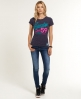 Superdry 59 Love T-shirt Purple