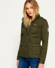 Superdry Cazadora militar Winter Rookie Verde