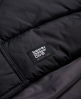 Superdry Dark Elements Hooded Parka Jacket Black