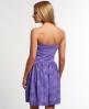 Superdry Palm Summer Dress Purple
