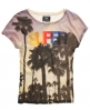 Superdry Palm Beach T-shirt Cream