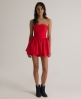 Superdry 50s Colour Dress Red